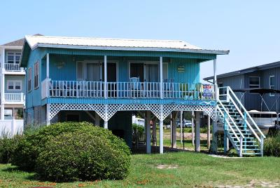 Holden Beach Single Family Home For Sale: 184 Ocean Boulevard W