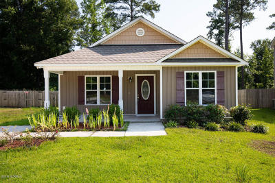Onslow County Single Family Home For Sale: 1272 Pickett Road