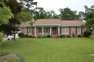 Trent Woods Single Family Home Active Contingent: 5120 Meadowbrook Drive
