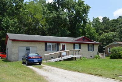 Jacksonville Single Family Home For Sale: 5938 Gum Branch Road