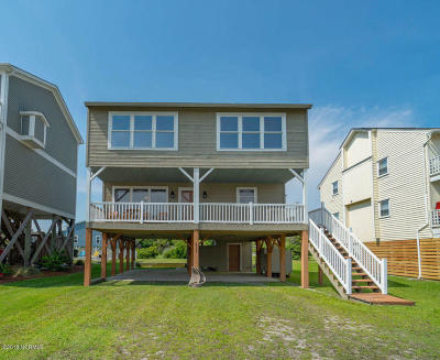 Oak Island Single Family Home For Sale: 6904 E Beach Drive