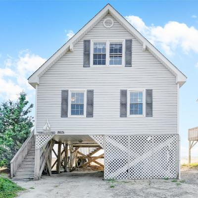 Oak Island Single Family Home For Sale: 2613 E Beach Drive
