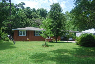 Sneads Ferry Single Family Home For Sale: 1715 Old Folkstone Road