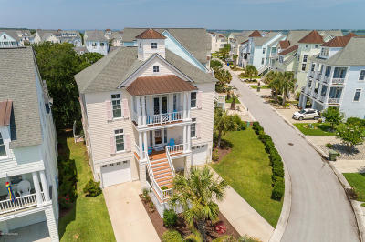 Atlantic Beach Single Family Home For Sale: 113 Sound Side Drive