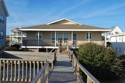 Holden Beach Single Family Home For Sale: 149 Ocean Boulevard W