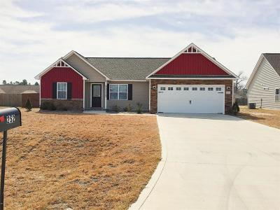 Richlands Single Family Home Active Contingent: 252 Rowland Drive