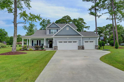 Olde Point, Olde Point Villas Single Family Home Active Contingent: 102 Golf Terrace Drive