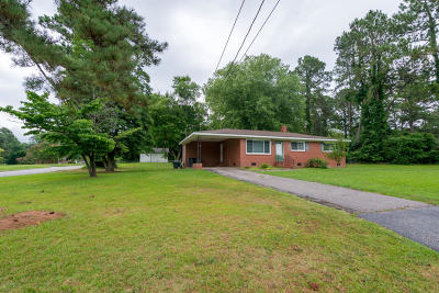 Rocky Mount Single Family Home For Sale: 205 Ridgewood Drive