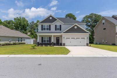 Sneads Ferry Single Family Home For Sale: 117 Regatta Way