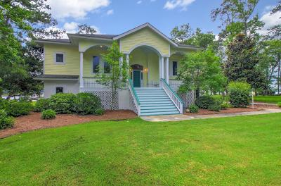 Beaufort NC Single Family Home For Sale: $549,900
