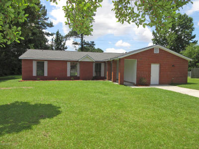 Onslow County Single Family Home For Sale: 516 E Springhill Terrace