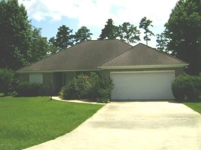 New Bern Single Family Home For Sale: 109 Couples Lane
