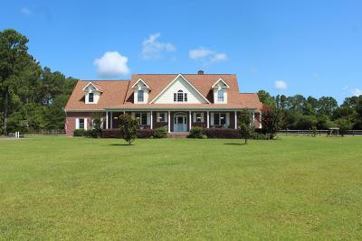 Onslow County Single Family Home For Sale: 125 Plantation Drive