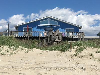 Emerald Isle Single Family Home For Sale: 807 Ocean Drive