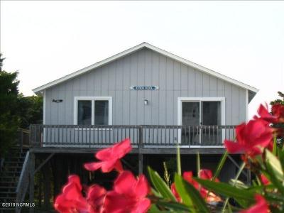 Oak Island Single Family Home For Sale: 612 Caswell Beach Road