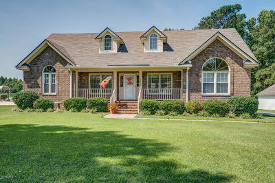 Rocky Mount Single Family Home For Sale: 5966 Tar River Cove Drive