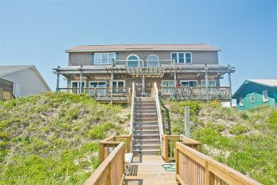 Emerald Isle Condo/Townhouse For Sale: 7121 Ocean Drive #W