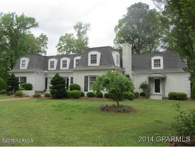 Greenville Single Family Home For Sale: 302 Country Club Drive