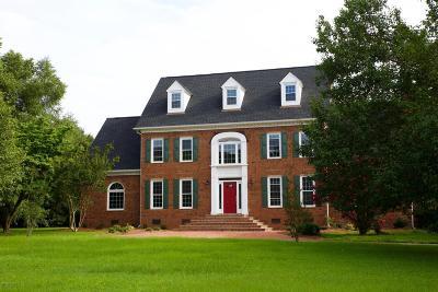 Kinston Single Family Home For Sale: 3307 Quail Ridge Road