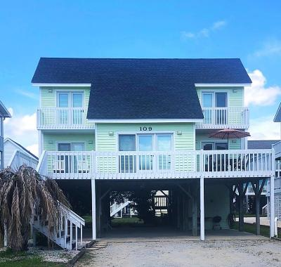 Holden Beach Single Family Home For Sale: 109 Clipper Ship Drive