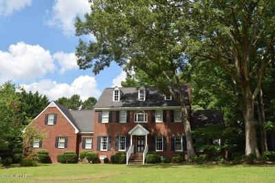 Rocky Mount Single Family Home For Sale: 808 Bell Drive