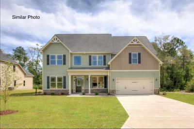 Onslow County Single Family Home For Sale: Southern Dunes #Lot 44