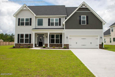 Onslow County Single Family Home For Sale: Southern Dunes #Lot 81