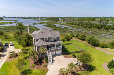 Morehead City Single Family Home For Sale: 1401 Marsh Pointe