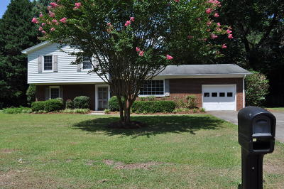 Greenville NC Single Family Home For Sale: $168,500