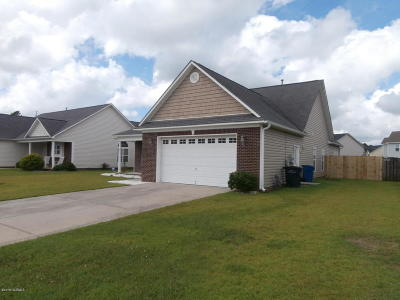 Onslow County Single Family Home For Sale: 201 Weatherford Drive