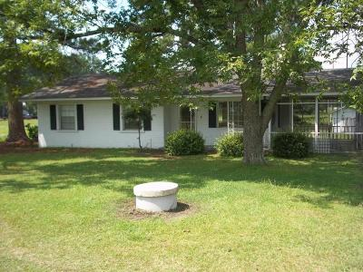 Edgecombe County Single Family Home For Sale: 2008 Old Wilson Road