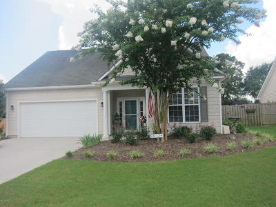 Wilmington Single Family Home For Sale: 8813 Plantation Landing Drive