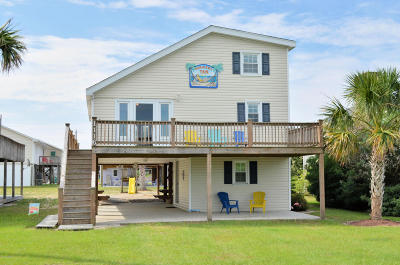 North Topsail Beach, Surf City, Topsail Beach Single Family Home For Sale: 1116 N New River Dr Drive