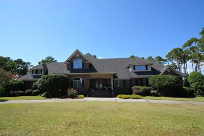 Morehead City Single Family Home For Sale: 165 Camp Morehead Drive