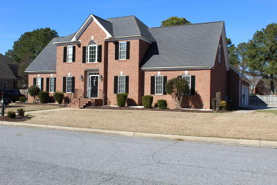 Greenville Single Family Home For Sale: 3700 Bach Circle