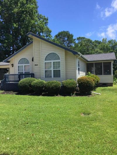 Calabash Single Family Home For Sale: 464 Deer Path