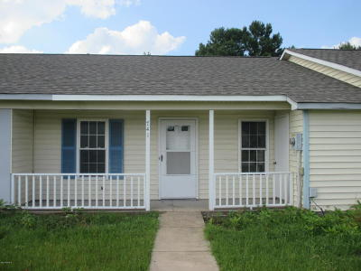Jacksonville Rental For Rent: 741 Pinewood Drive