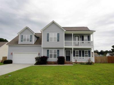 Jacksonville Single Family Home For Sale: 218 Rutherford Way