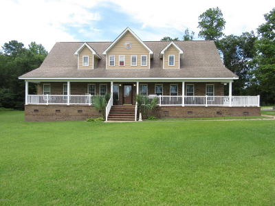 New Bern NC Single Family Home For Sale: $245,000