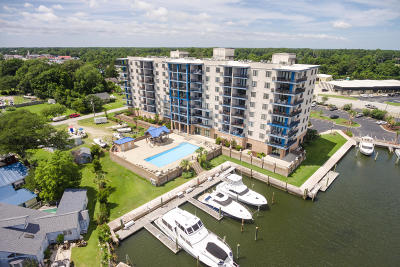 Morehead City Condo/Townhouse For Sale: 4425 Arendell Street #206