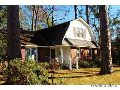 New Bern Single Family Home For Sale: 2108 Neuse Cliffs Drive