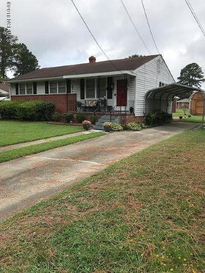 Edgecombe County Single Family Home For Sale: 159 Spaulding Drive