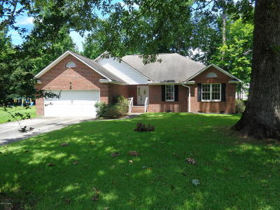 New Bern Single Family Home For Sale: 318 Magellan Drive