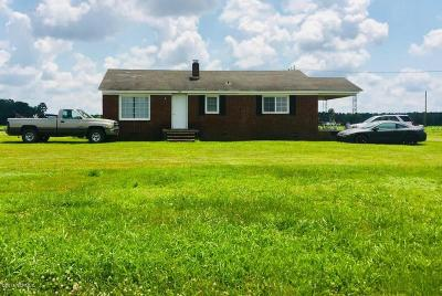 Edgecombe County Single Family Home For Sale: 5005 Nc Highway 33 E