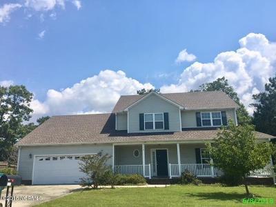 Swansboro Single Family Home For Sale: 116 Cormorant Drive