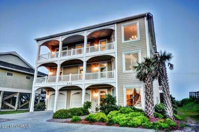 North Topsail Beach, Surf City, Topsail Beach Single Family Home For Sale: 502 N Shore Drive