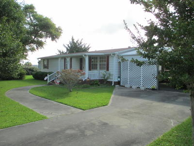 Harkers Island Manufactured Home For Sale: 206 Mary Ella Road