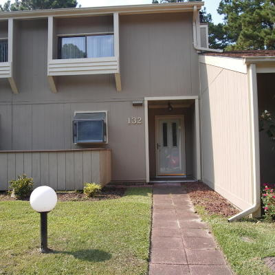 New Bern Condo/Townhouse For Sale: 132 Quarterdeck