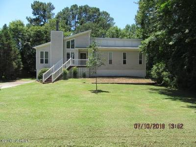 New Bern NC Single Family Home For Sale: $145,500