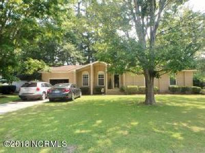 Jacksonville Single Family Home For Sale: 214 Nottingham Road
